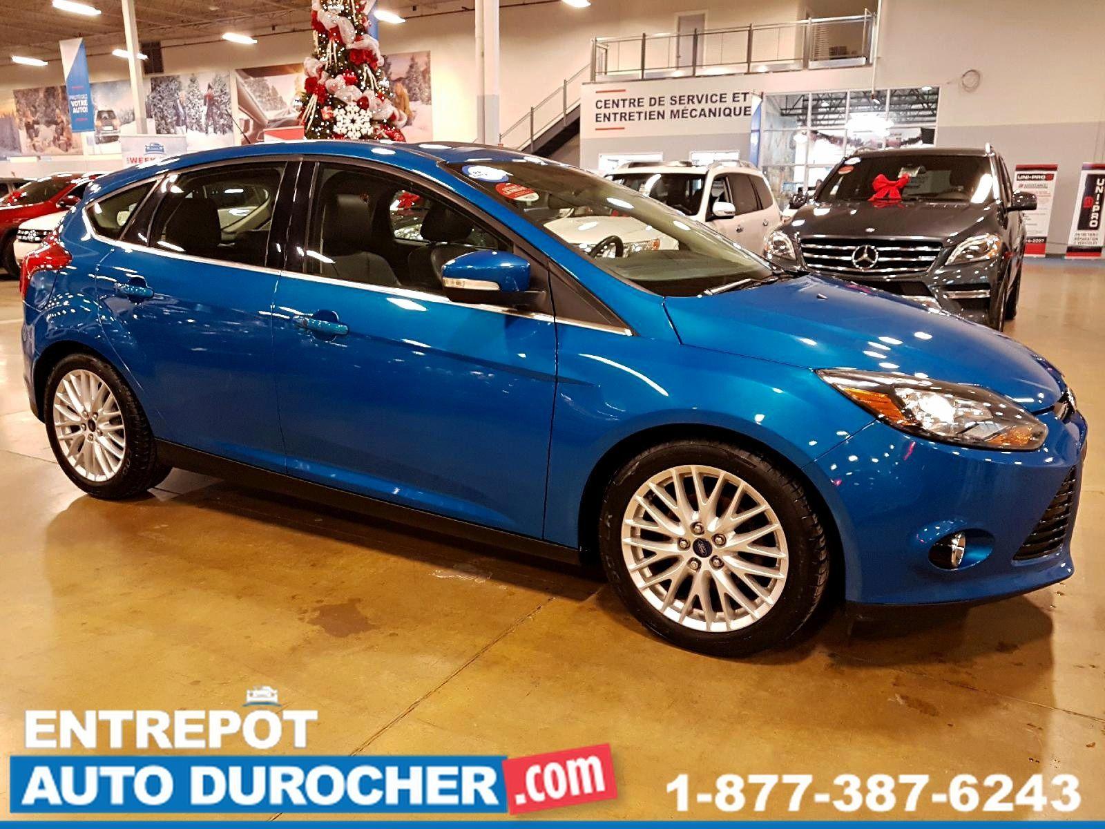 Ford Focus TITANIUM AUTOMATIQUE, TOIT OUVRANT, SIÈGES EN CUIR 2014