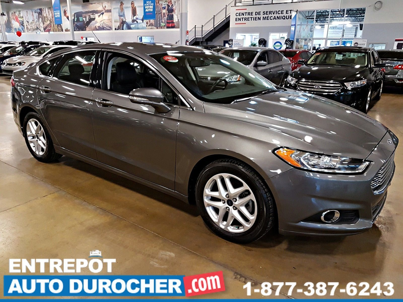 Auto Durocher Used Ford Fusion 2014 For Sale In Laval Stock N 3 Se Automatique Navigation Camra De Recul A C