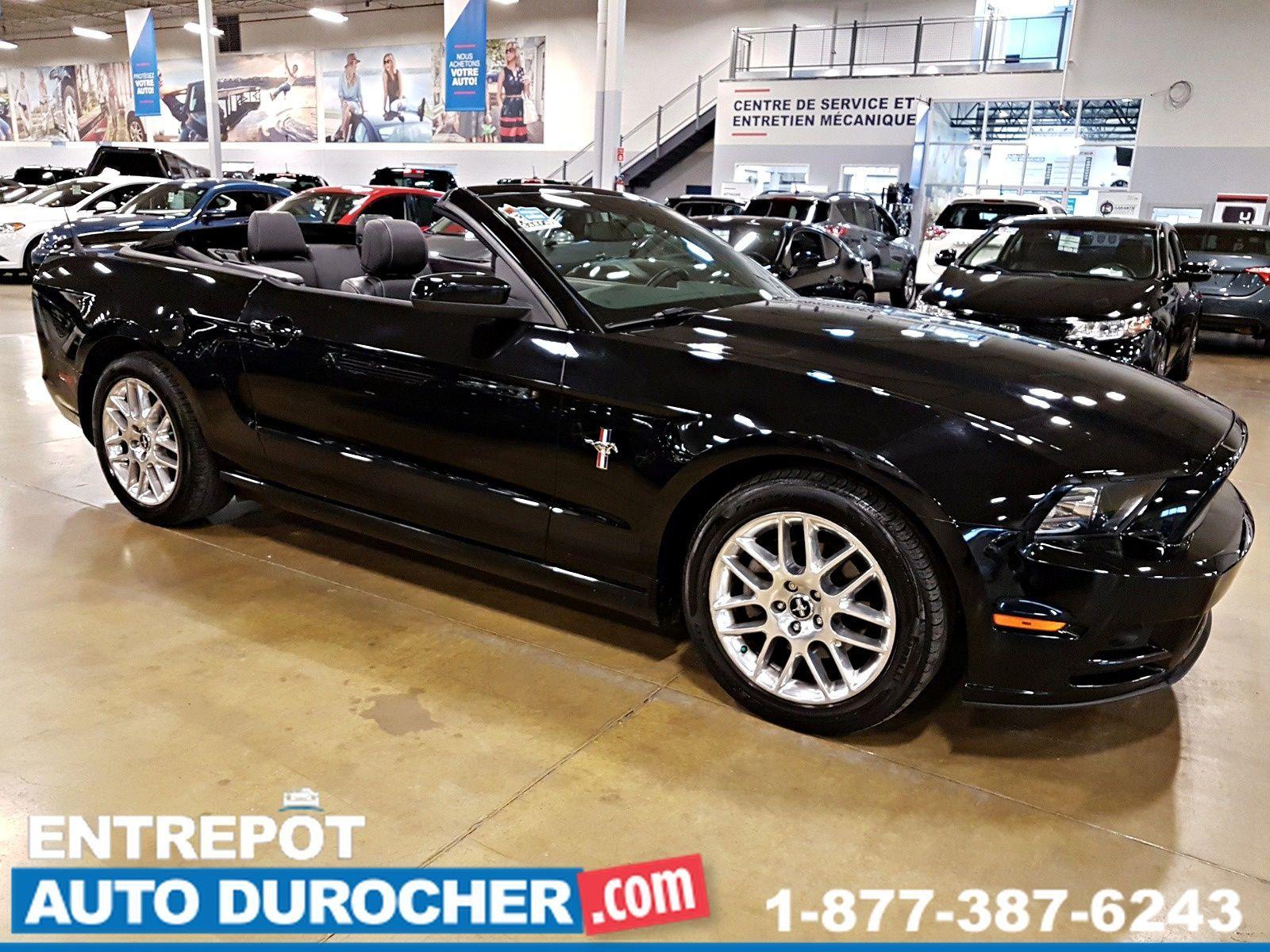 2014 Ford Mustang V6 Premium, Décapotable - Automatique - NAVIGATION - Leather