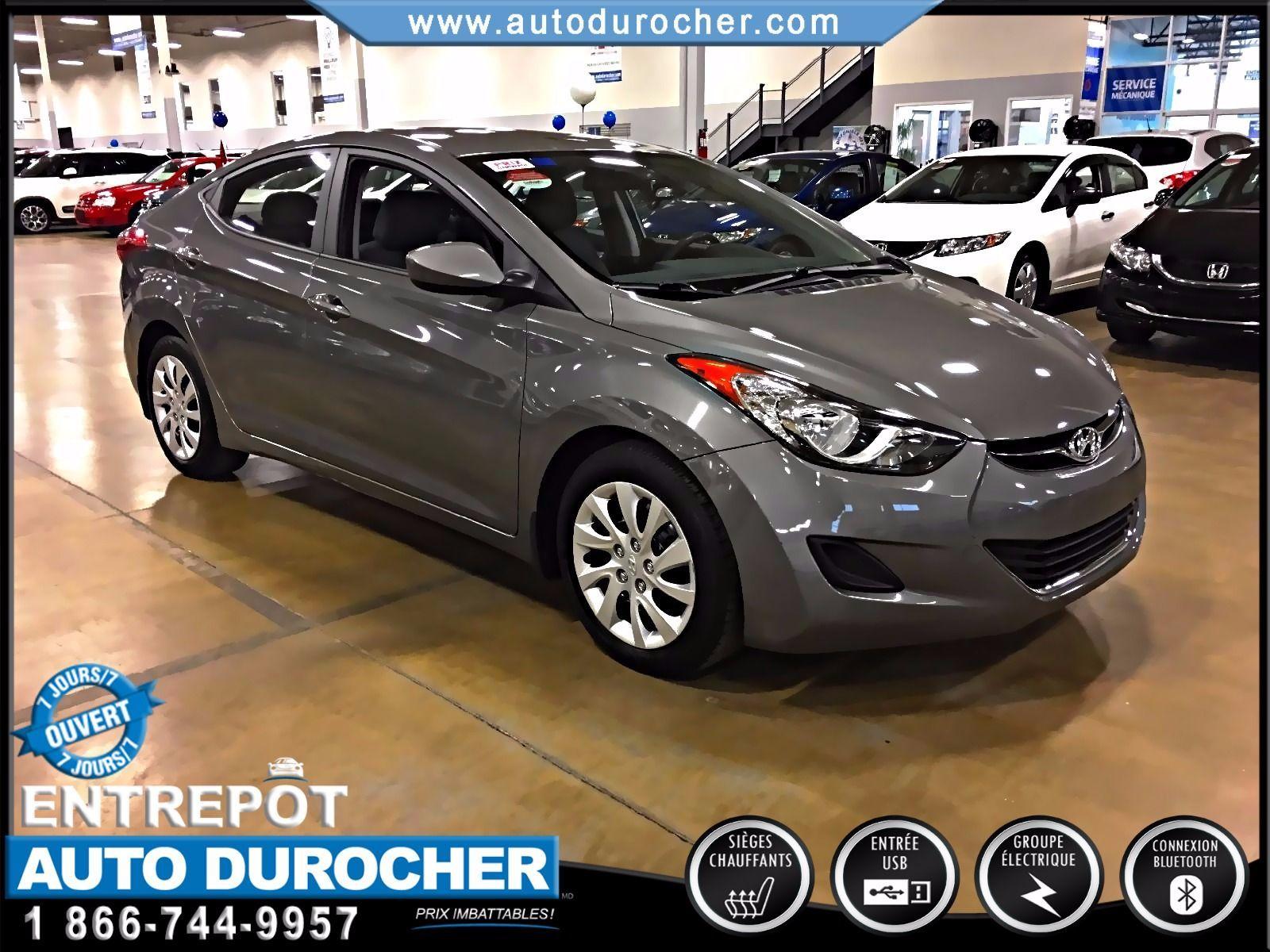 2013 Hyundai Elantra AUTOMATIQUE TOUT ÉQUIPÉ BLUETOOTH