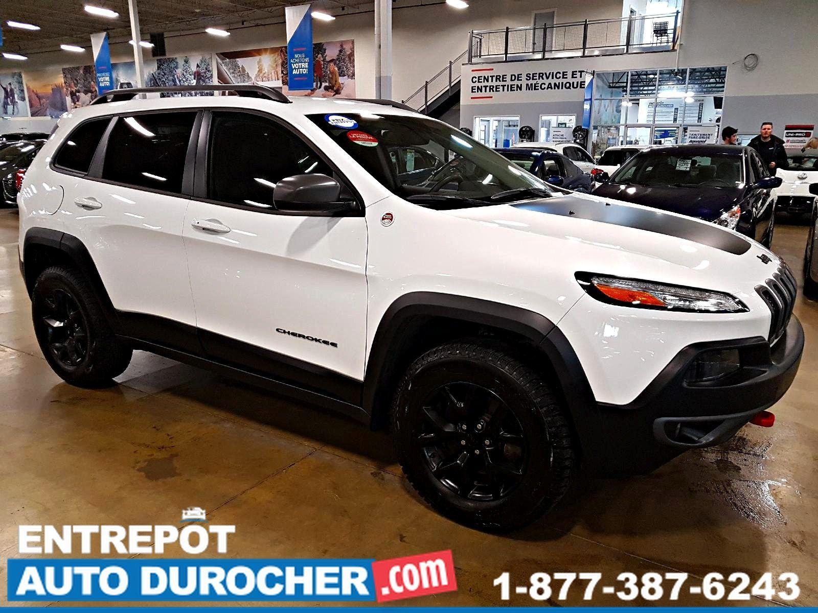 2015  Jeep Cherokee Trailhawk AWD - Automatique - Cuir