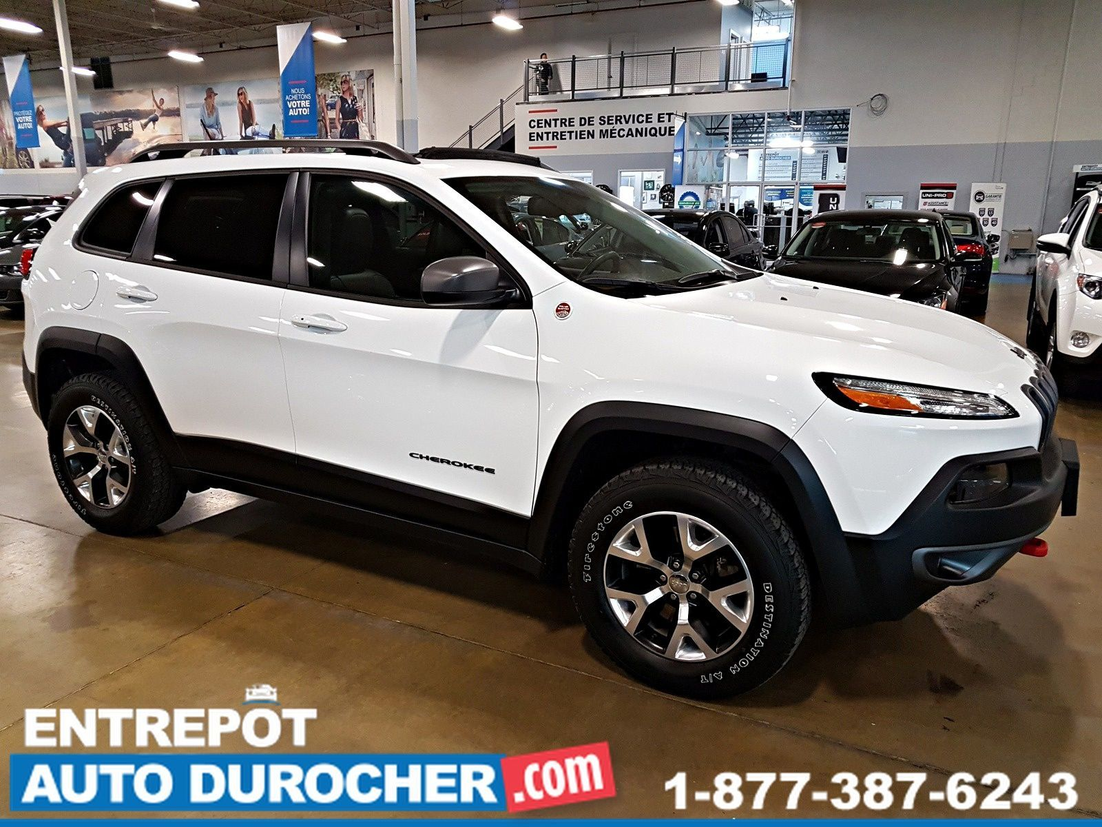2015  Jeep Cherokee Trailhawk 4X4 - NAVIGATION - TOIT OUVRANT - CUIR