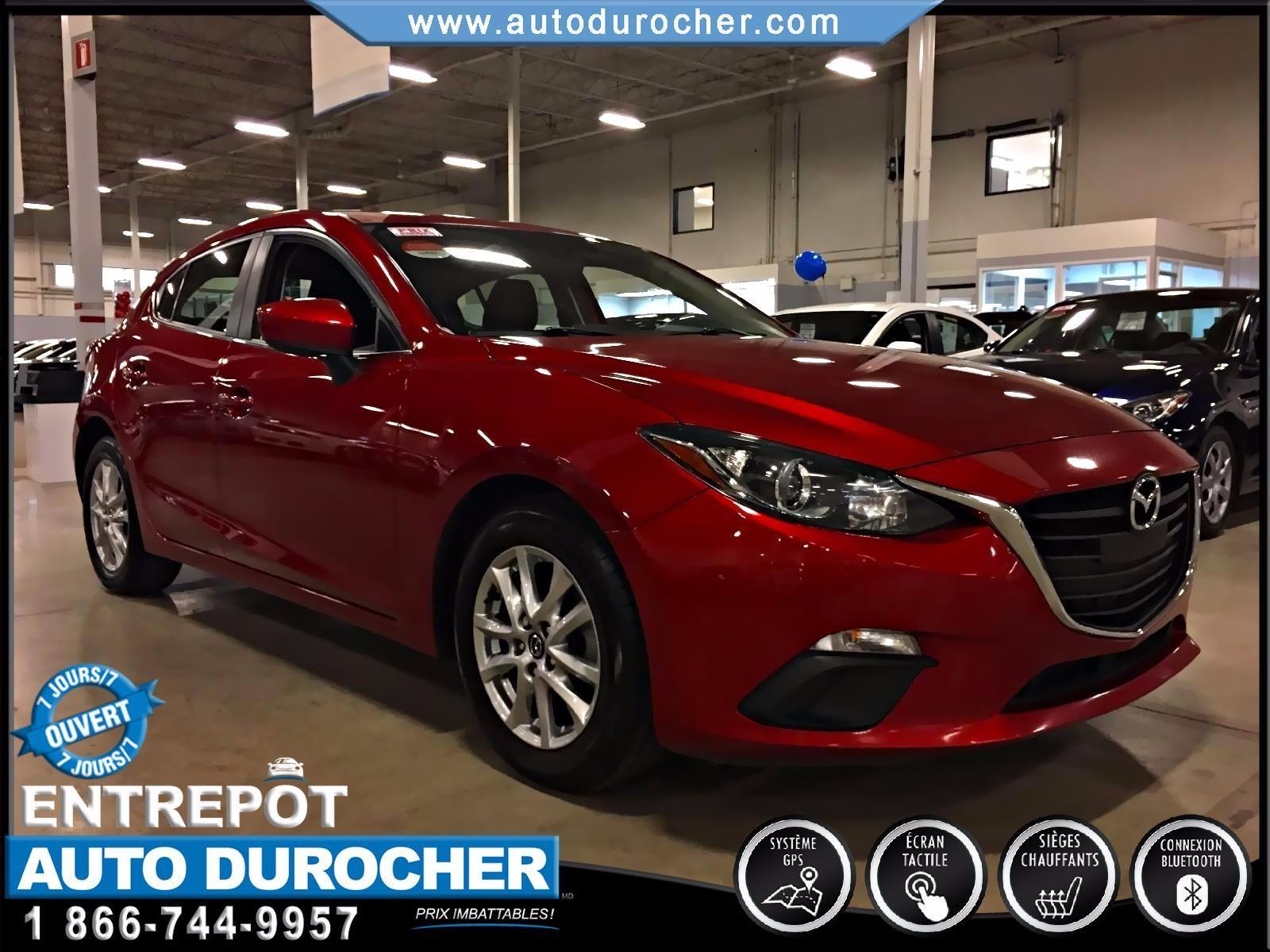 Mazda Mazda3 GS-SKY TOUT ÉQUIPÉ JANTES ÉCRAN 2014