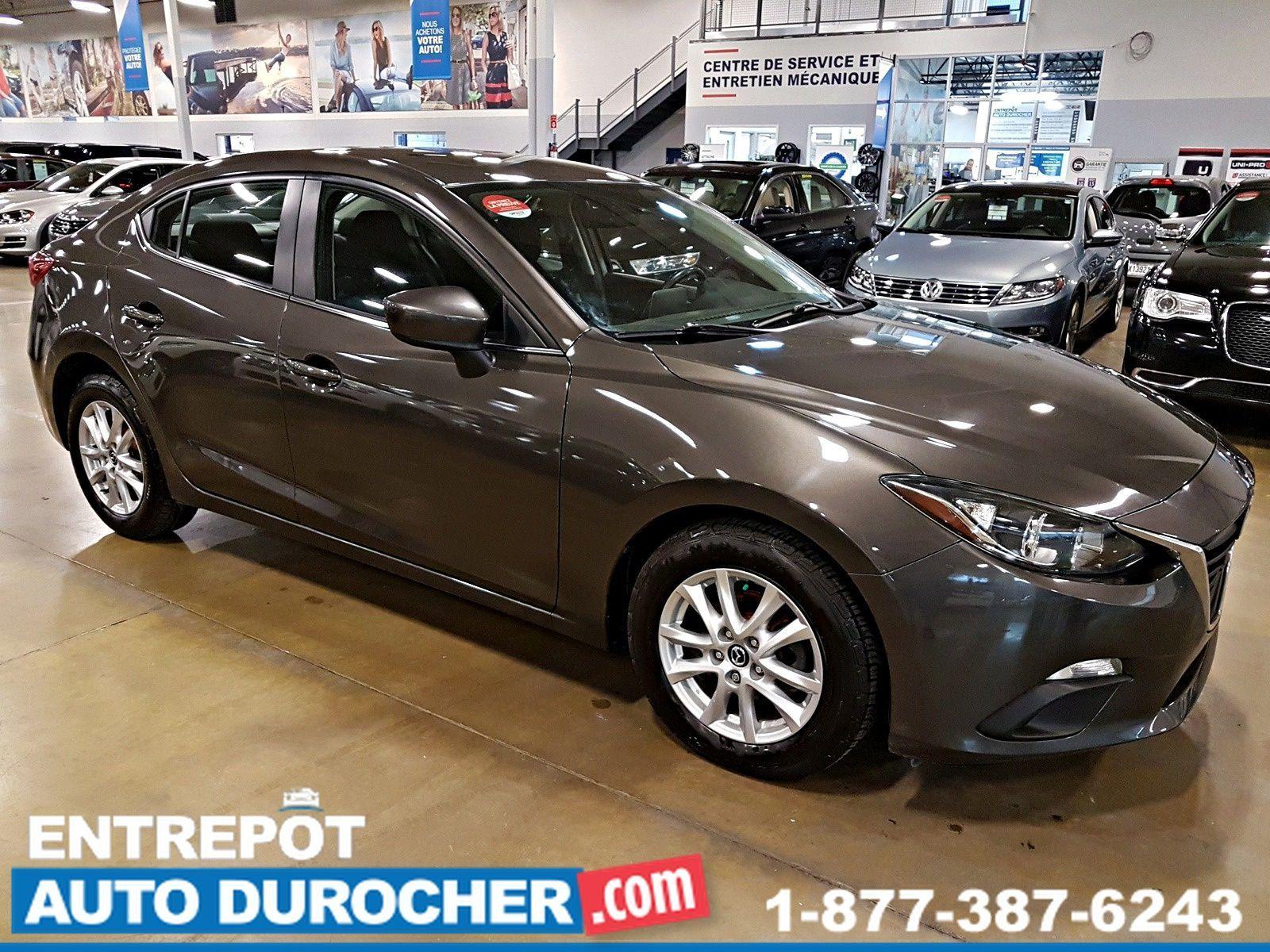 2014  Mazda Mazda3 GS-SKY - Automatique - A/C - Caméra de Recul