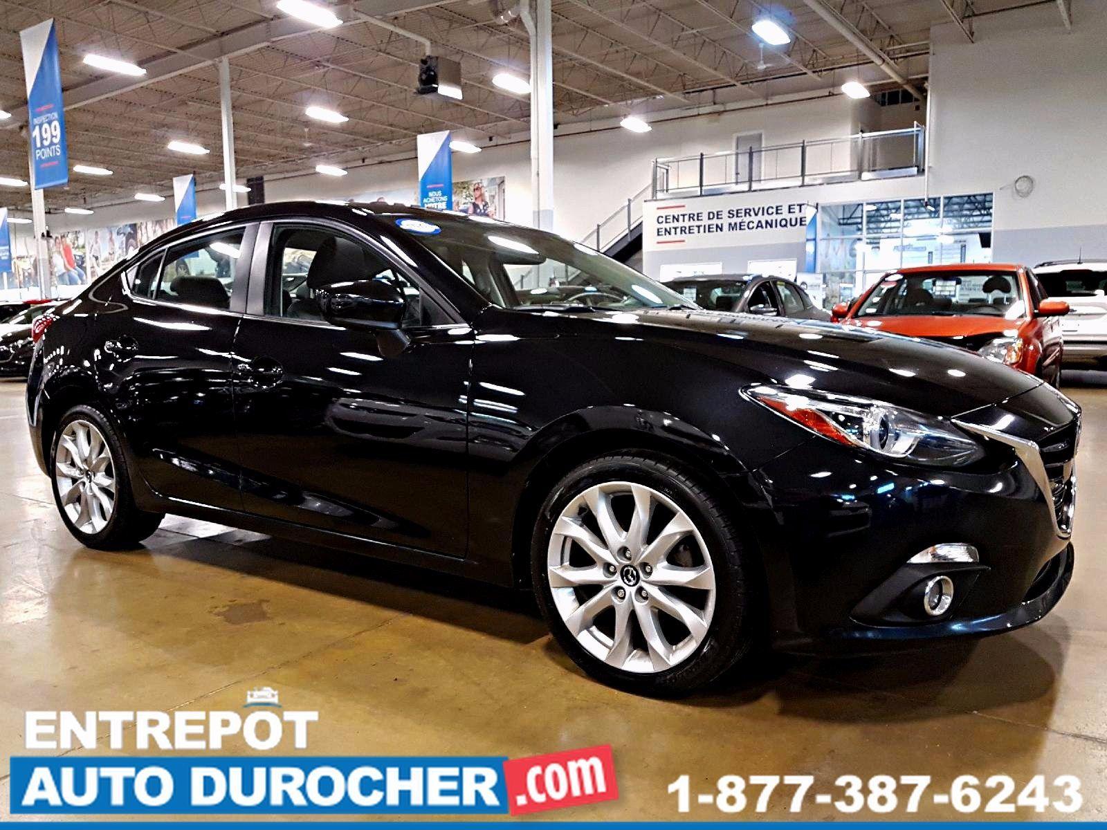2015 Mazda Mazda3 GT - AUTOMATIQUE- TOIT OUVRANT - CUIR - NAVIGATION