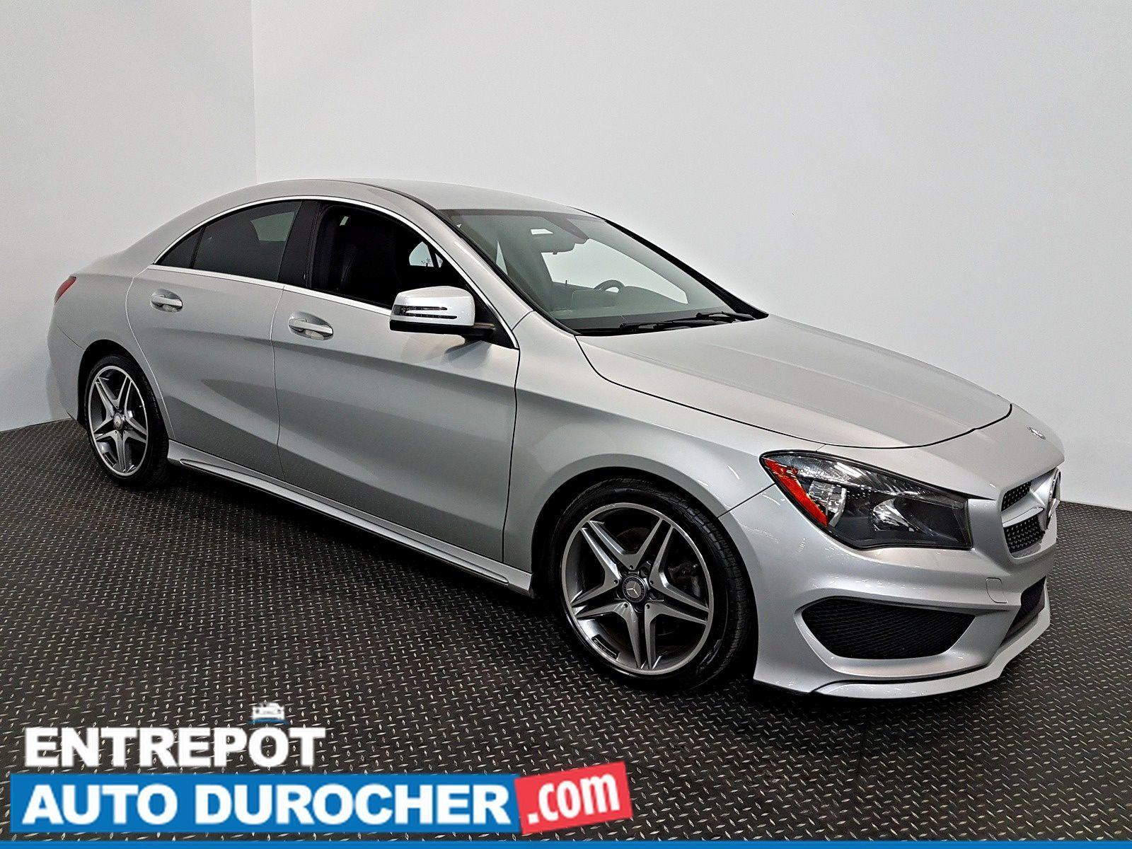 Auto Durocher | Used Mercedes-Benz CLA-Class 2015 for sale