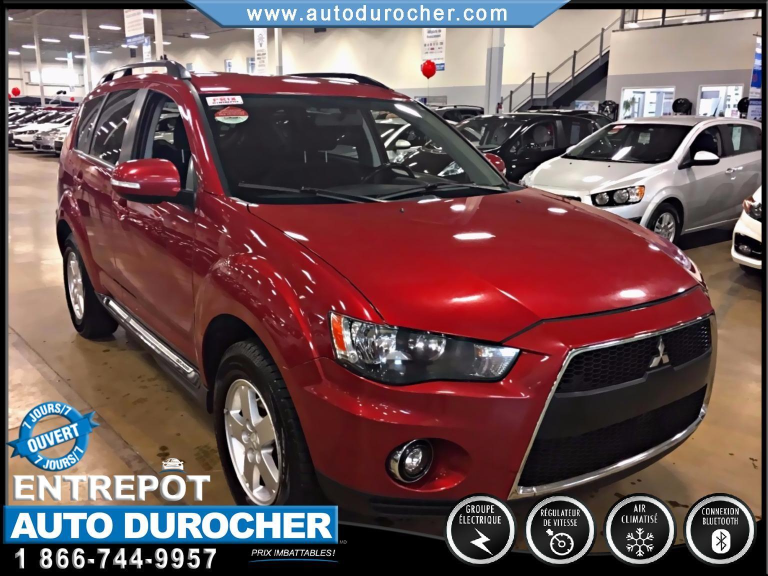 Mitsubishi Outlander L AUTOMATIQUE AWD TOUT ÉQUIPÉ 2010