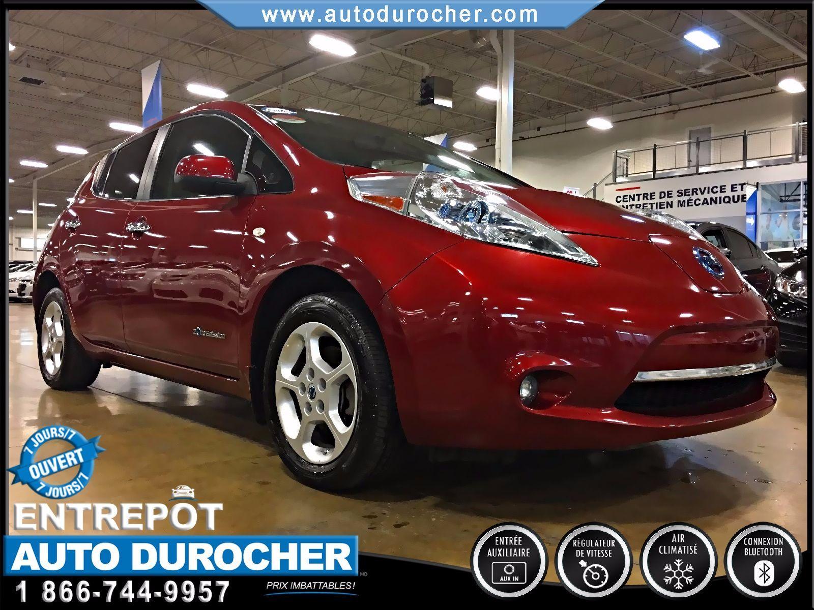 Nissan Leaf ÉLECTRIQUE - AUTOMATIQUE - AIR CLIMATISÉ 2012