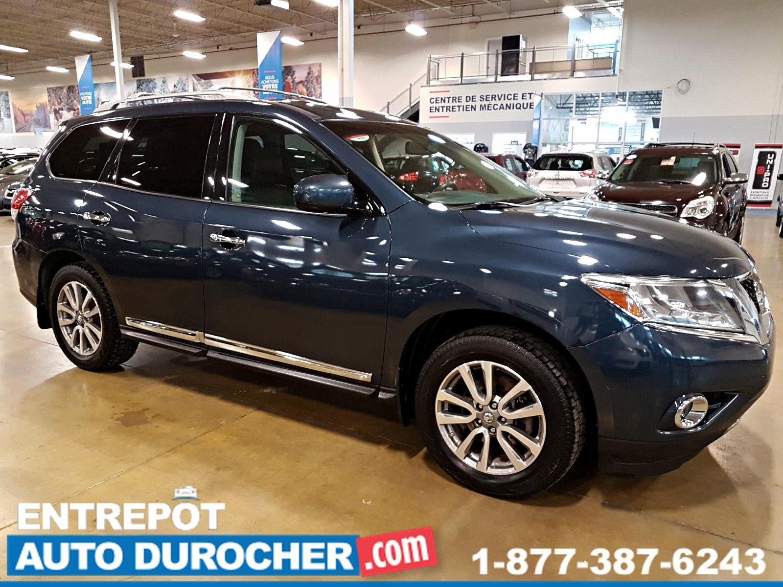 2013 Nissan Pathfinder SV AWD - TOIT OUVRANT - 7 PASSAGERS - CUIR