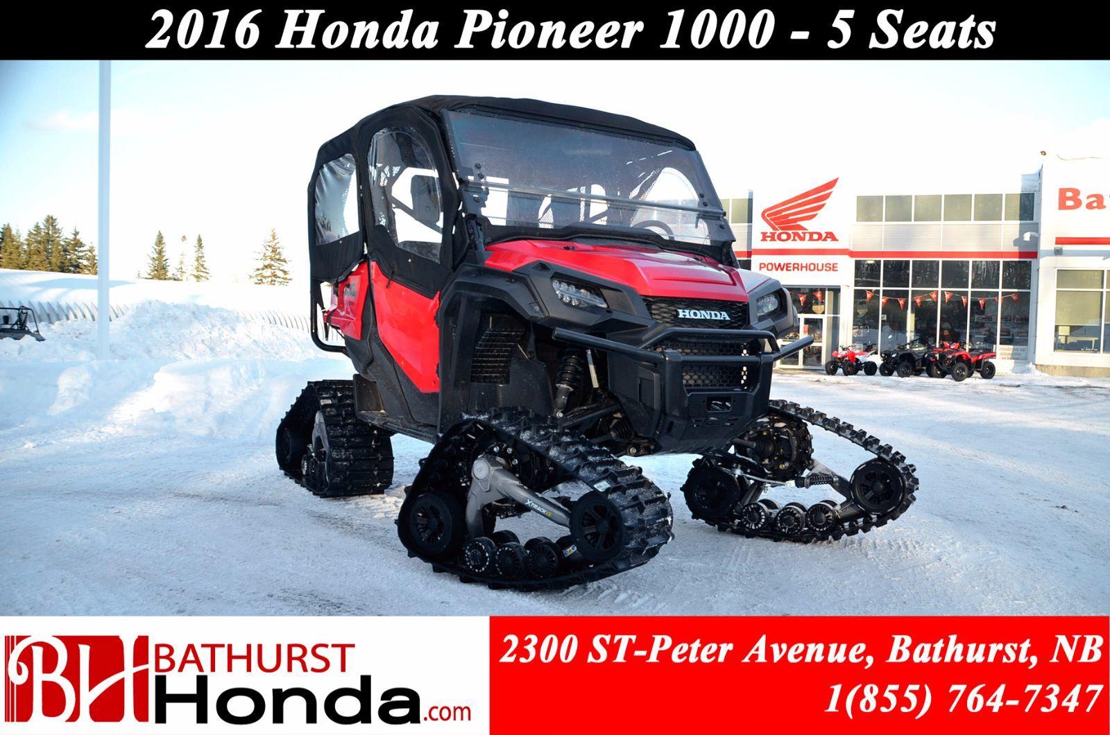 Used 2016 Honda Pioneer 1000 5 Seats At Bathurst Honda