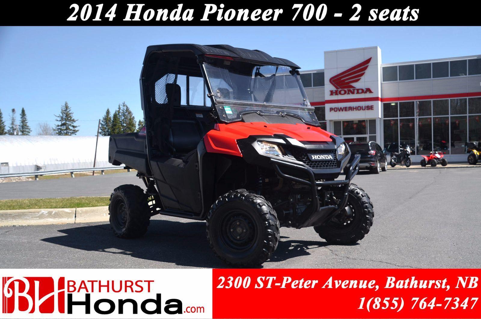 Used 2014 Honda Pioneer 700 2 Seats At Bathurst Honda