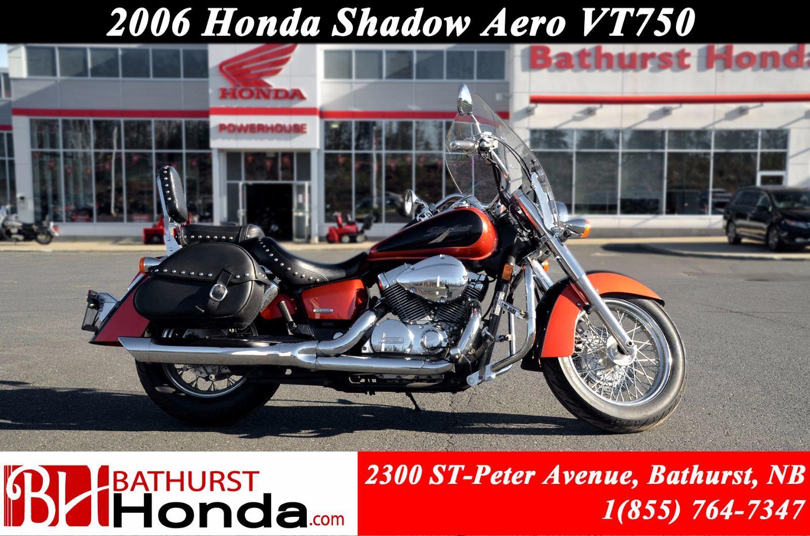 Used 2006 Honda Shadow Aero Vt750 At Bathurst B6180a Bob Motorcycle
