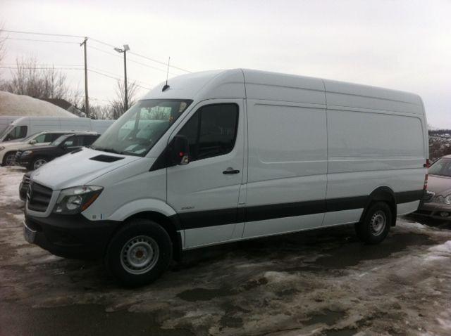 Groupe Beaucage Mercedes Benz Sprinter Cargo Vans 2014