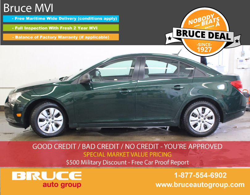 used 2014 chevrolet cruze ls 1 8l 4 cyl automatic fwd 4d sedan in middleton 0. Black Bedroom Furniture Sets. Home Design Ideas