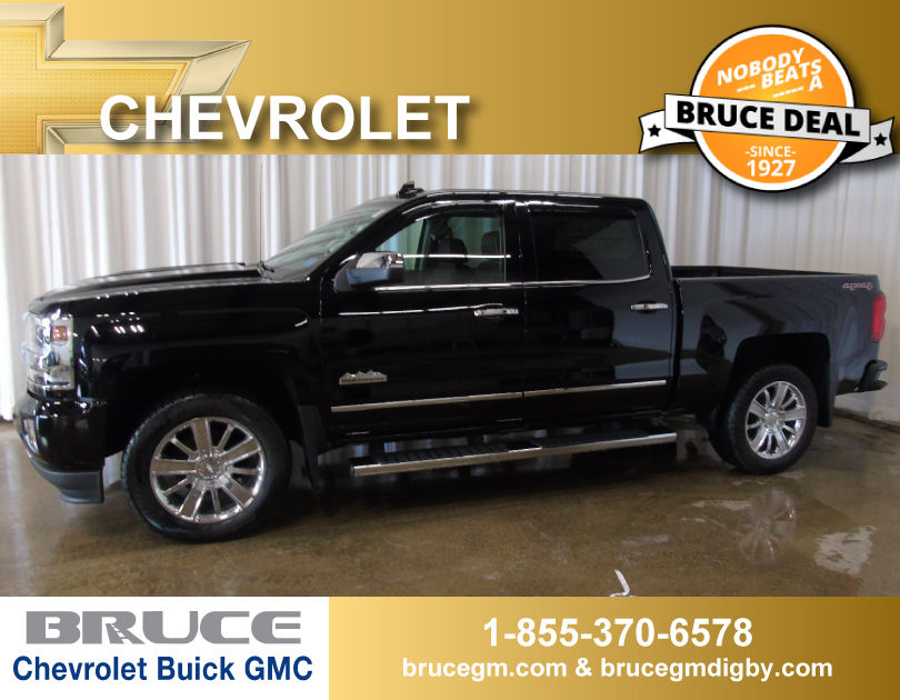 new 2017 chevrolet silverado 1500 high country 5 3l 8 cyl automatic 4x4 crew cab in middleton 0. Black Bedroom Furniture Sets. Home Design Ideas