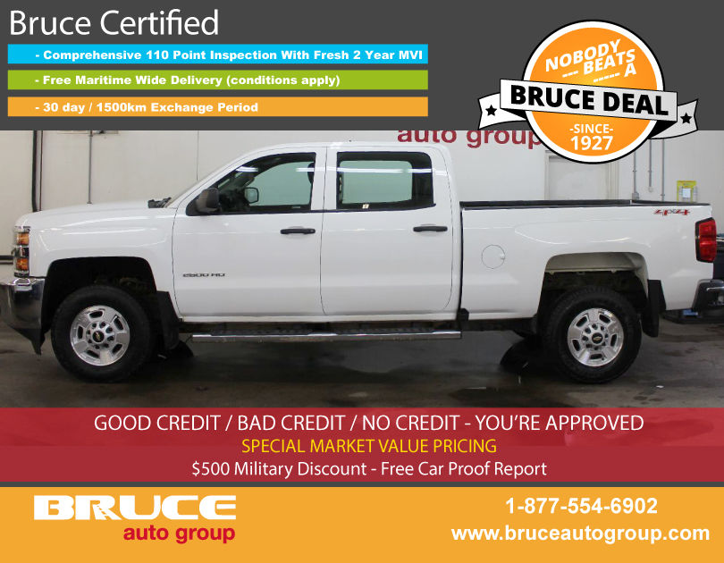used 2016 chevrolet silverado 2500 hd wt 6 0l 8 cyl automatic 4x4 crew cab in middleton 0. Black Bedroom Furniture Sets. Home Design Ideas