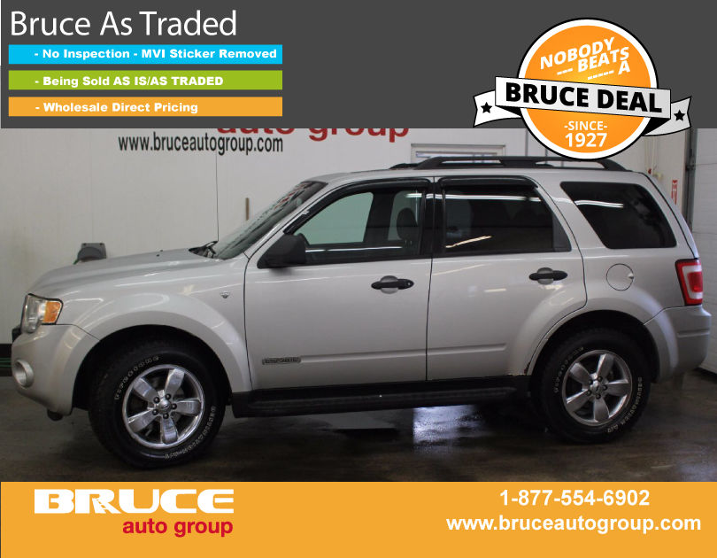 Used 2008 Ford Escape Xlt 3 0l 6 Cyl Automatic Awd In Middleton 0