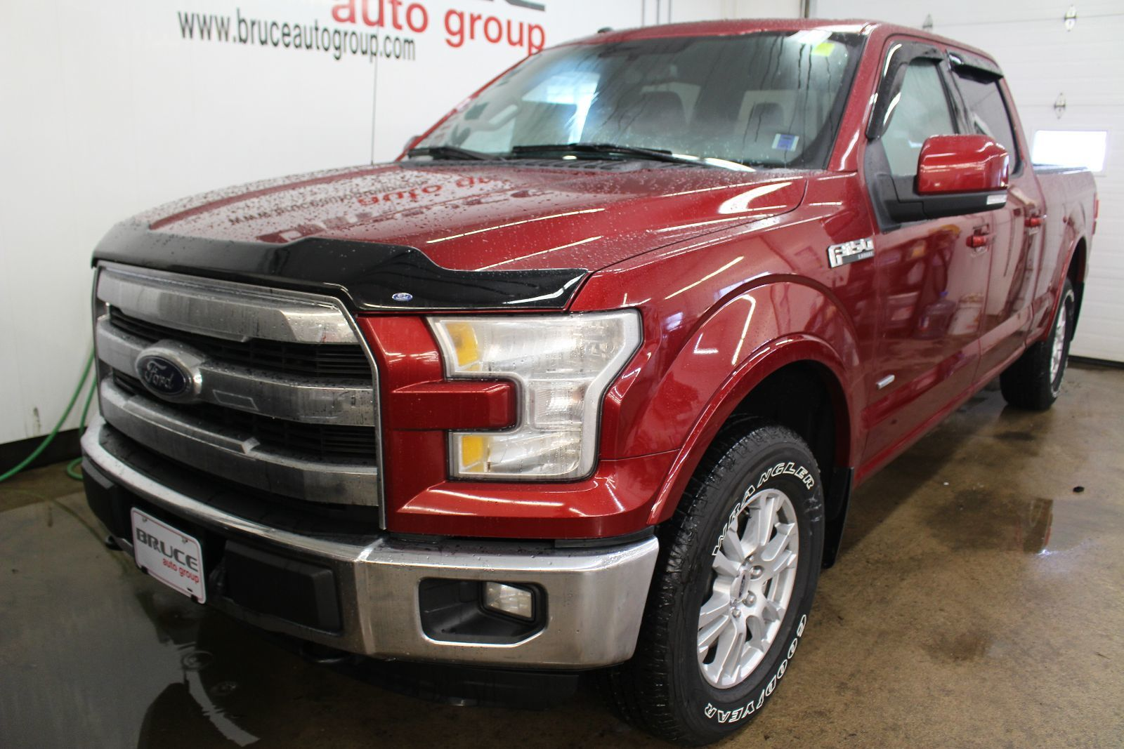 new 2016 ford f 150 lariat 5 0l 8 cyl automatic 4x4. Black Bedroom Furniture Sets. Home Design Ideas