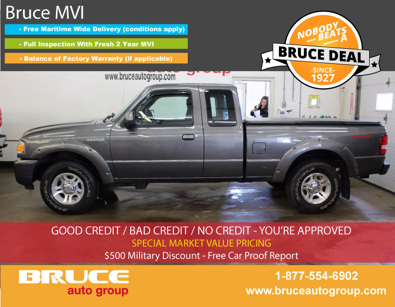 Used 2009 Ford Ranger SPORT 4.0L 6 CYL 5 SPD MANUAL RWD SUPERCAB in ...