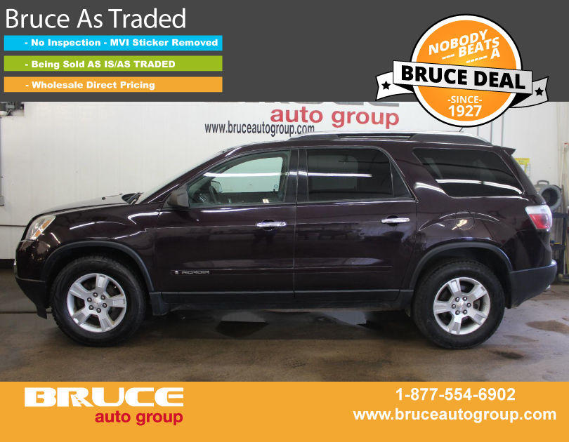 Used 2008 Gmc Acadia Sle 3 6l 6 Automatic Fwd In Middleton