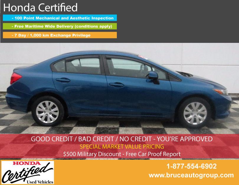 Used 2012 Honda Civic Lx 1 8l 4 Cyl I Vtec Automatic Fwd