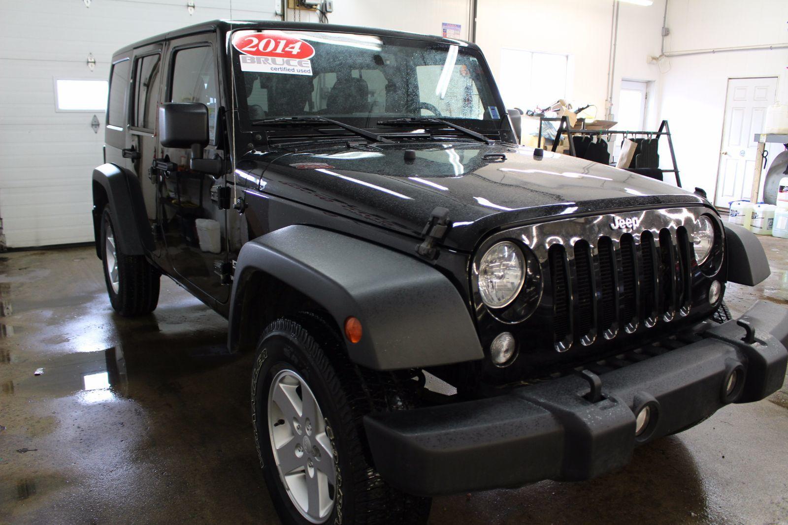 2014 jeep wrangler sport for sale pre owned bruce ford. Black Bedroom Furniture Sets. Home Design Ideas