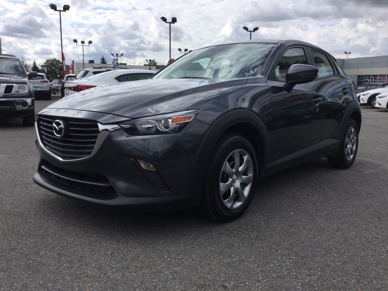 Mazda CX-3 **RÉSERVÉ**, GX,JAMAIS ACCIDENTÉ, UN PROPRIÉTAIRE 2016 GARANTIE JUSQU EN 2020,CAMÉRA DE RECULE,BLUETOOTH