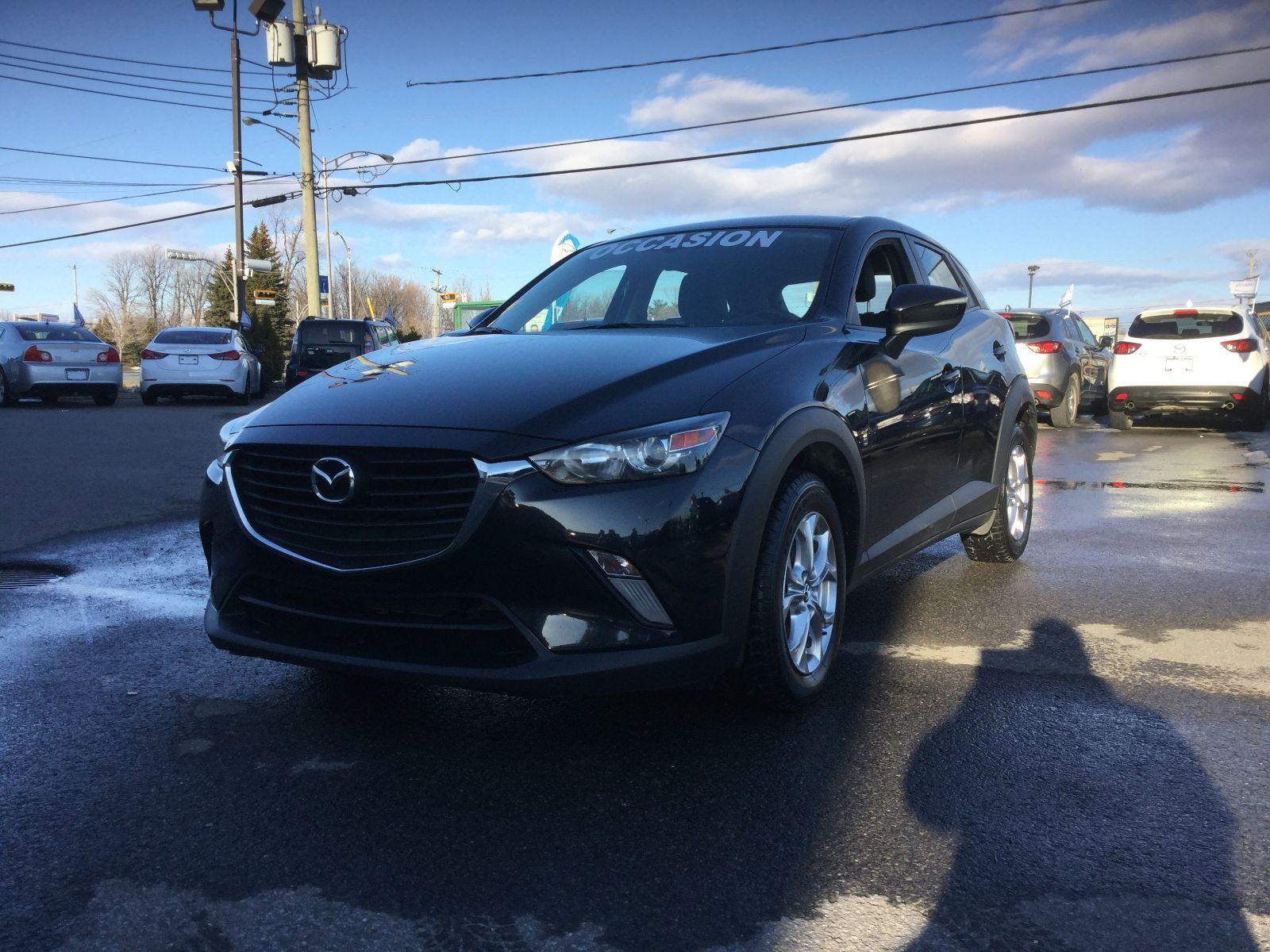 Mazda CX-3 **RÉSERVÉ**GS,AWD,CUIR,TOIT,SIÈGES CHAUFFANTS,MAGS 2016 JAMAIS ACCIDENTÉ