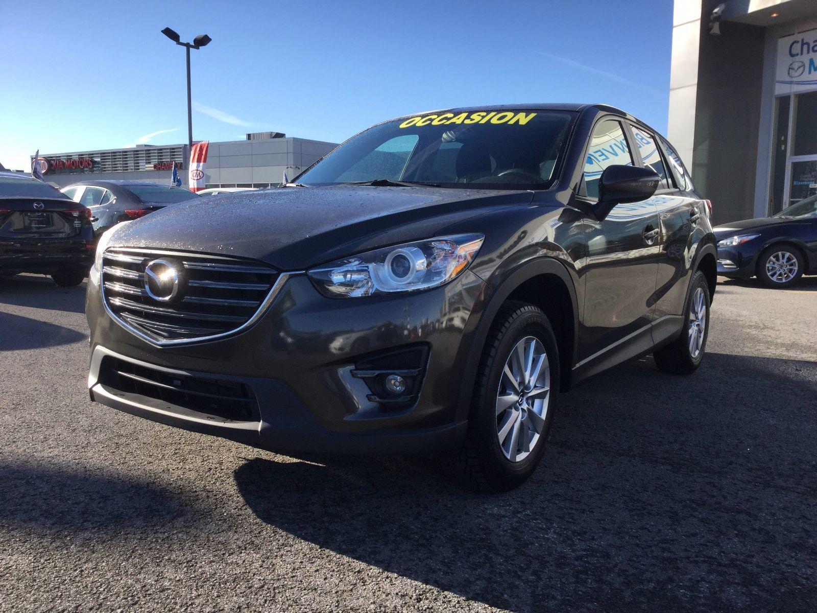 Mazda CX-5 **RÉSERVÉ**,GS, DÉMARREUR, TOIT, SIÈGES CHAUFFANTS 2016 JAMAIS ACCIDENTÉ, UN SEUL PROPRIÉTAIRE