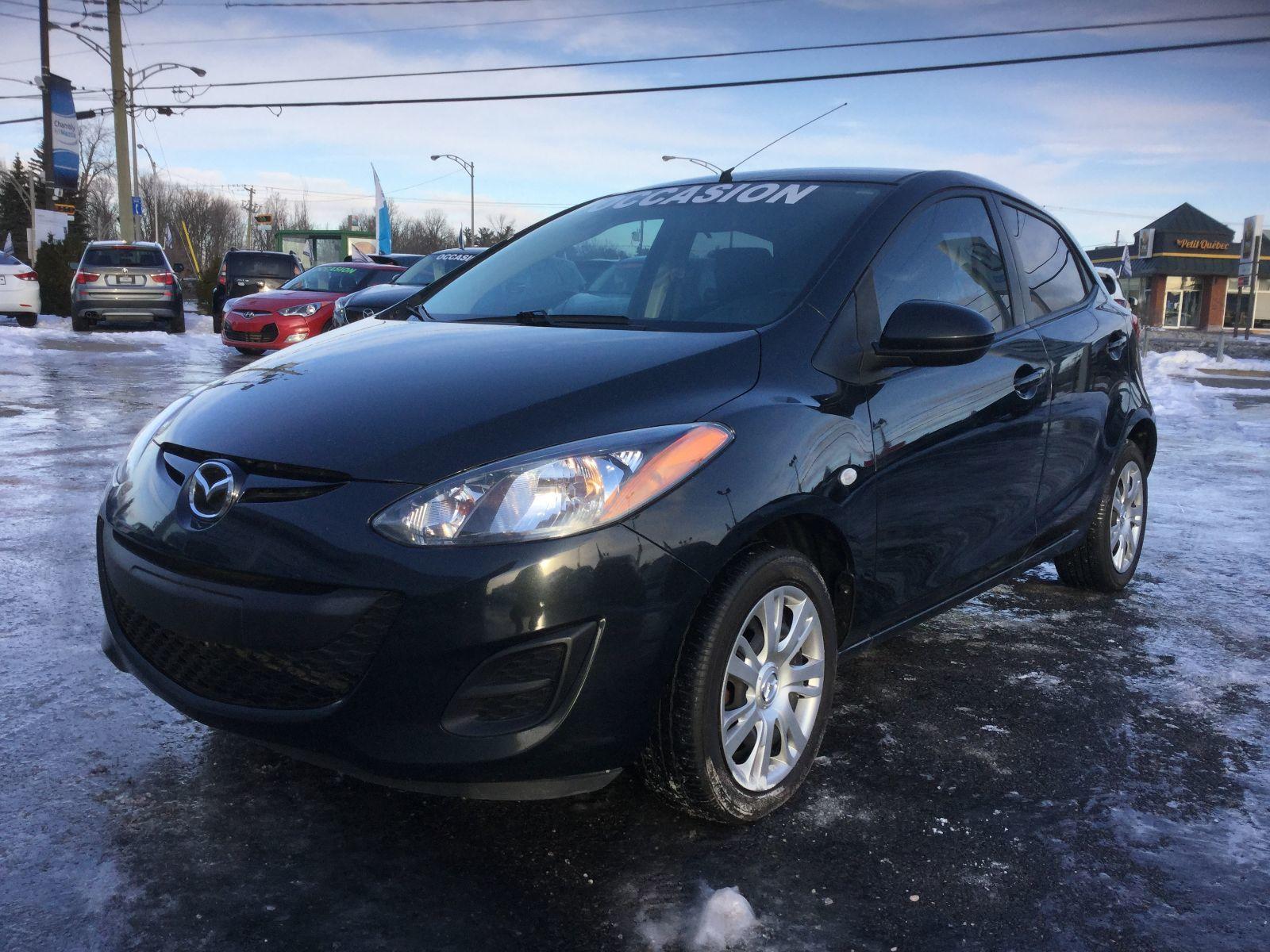 Mazda Mazda2 GX, A/C, RÉGULATEUR DE VITESSE, GROUPE ÉLECTRIQUE 2014 JAMAIS ACCIDENTÉ