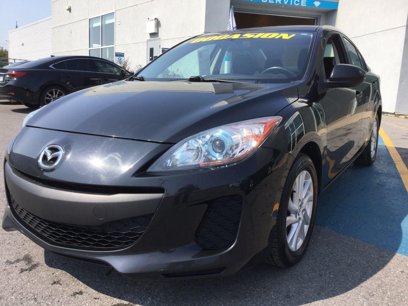 Mazda Mazda3 **RÉSERVÉ**, GS-SKY, JAMAIS ACCIDENTÉ 2013 AC, BLUETOOTH, SIÈGES AVANT CHAUFFANT