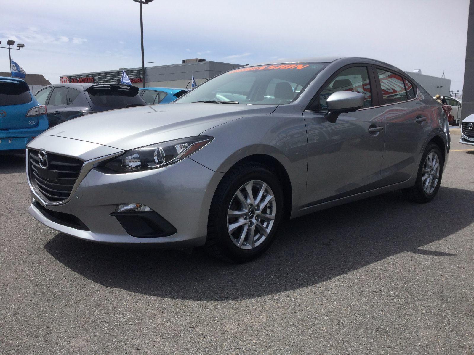 Mazda Mazda3 GS-SKY, CAMÉRA DE RECULE,BLUETOOTH, COMMANDE VOCAL 2014 UN SEUL PROPRIÉTAIRE