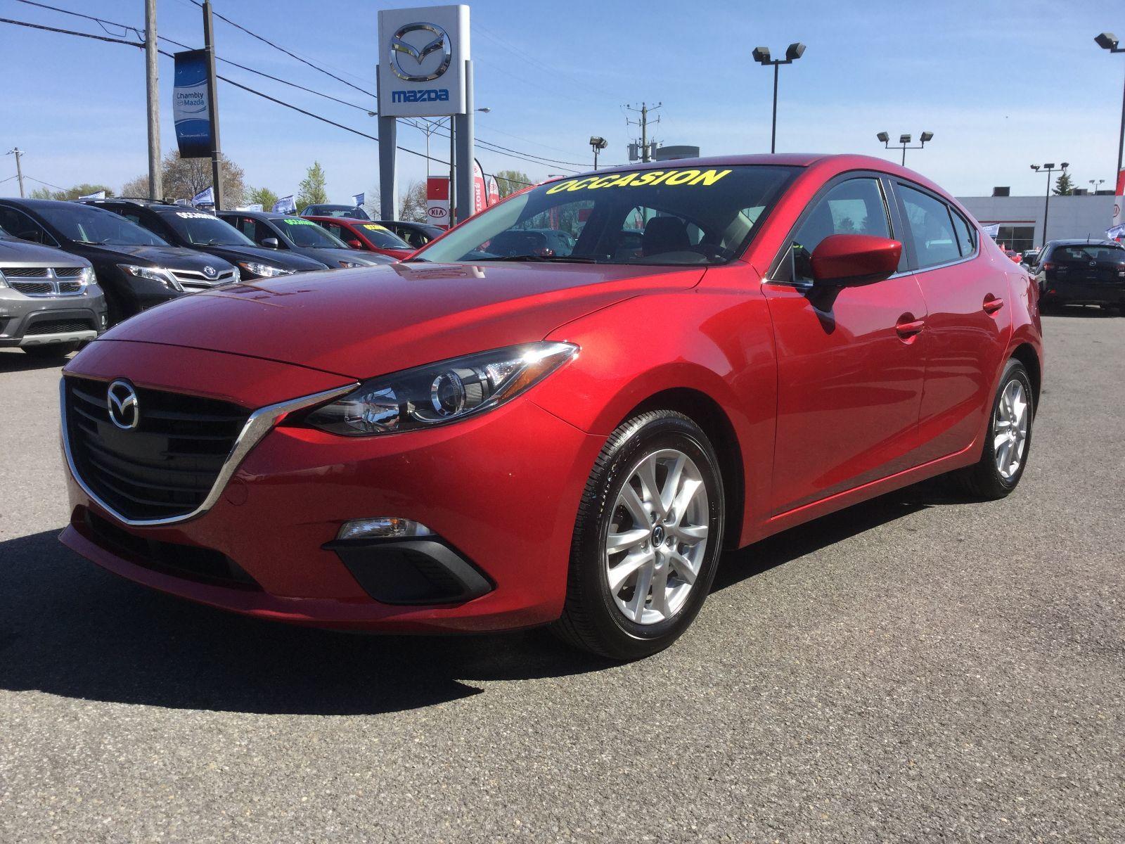 Mazda Mazda3 GS-SKY, SIEGES CHAUFFANTS, BLUETOOTH, CAMERA, MAGS 2014 UN SEUL PROPRIÉTAIRE