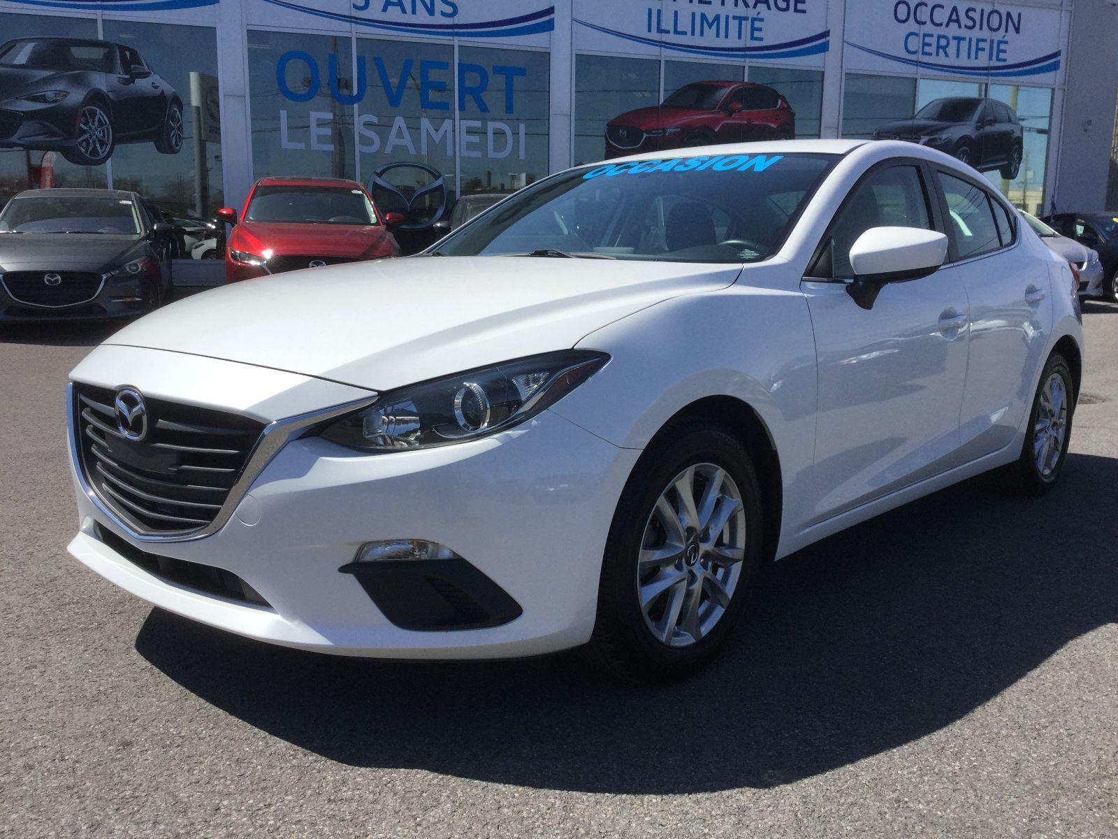 Mazda Mazda3 GS, SIÈGES CHAUFFANTS, BLUETOOTH, DÉMARREUR, MAGS 2016 JAMAIS ACCIDENTÉ, UN SEUL PROPRIÉTAIRE