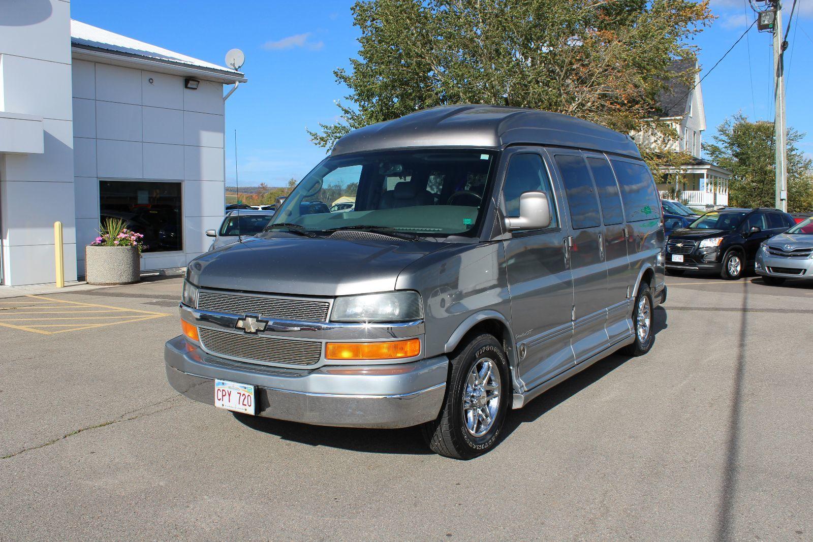 used 2006 chevrolet express cargo van yf7 upfitter in saint john used inventory downey ford. Black Bedroom Furniture Sets. Home Design Ideas