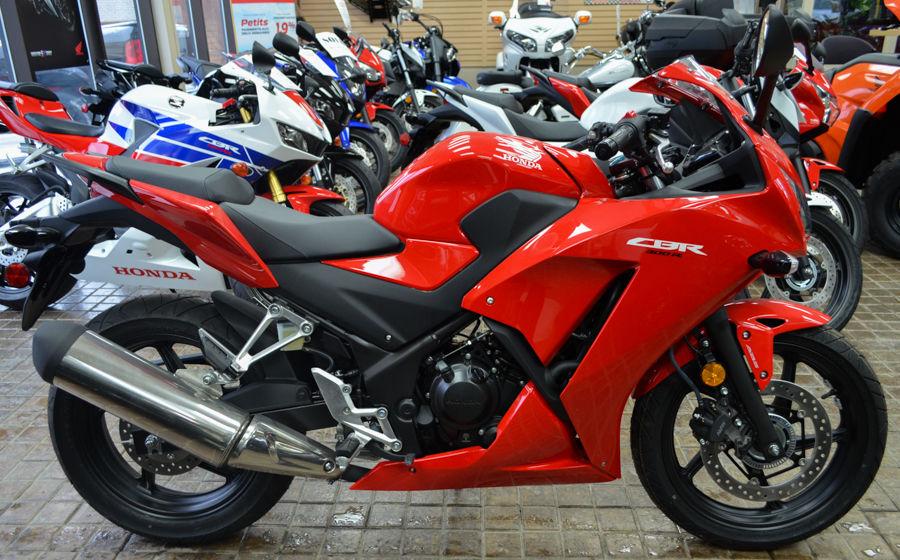 New 2015 honda cbr300r at edmundston honda m13125 for Honda used inventory