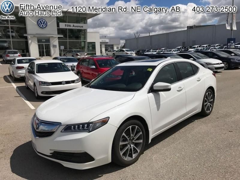 Atlas Auto Sales >> Pre-Owned 2015 Acura TLX Tech - $185.00 B/W in Calgary - Pre-Owned inventory - Fifth Avenue Auto ...