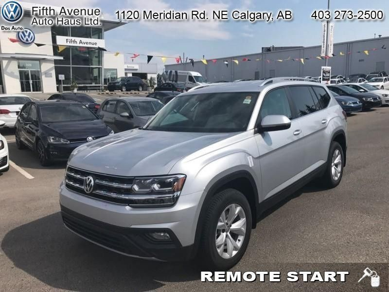 Atlas Auto Sales >> New 2018 Volkswagen Atlas Comfortline 3.6 FSI - Bluetooth - $292.32 B/W for sale in Calgary ...