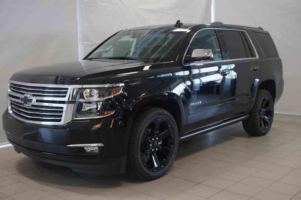 New 2017 Chevrolet Tahoe Premier GBA - Black - $81745.0 ...