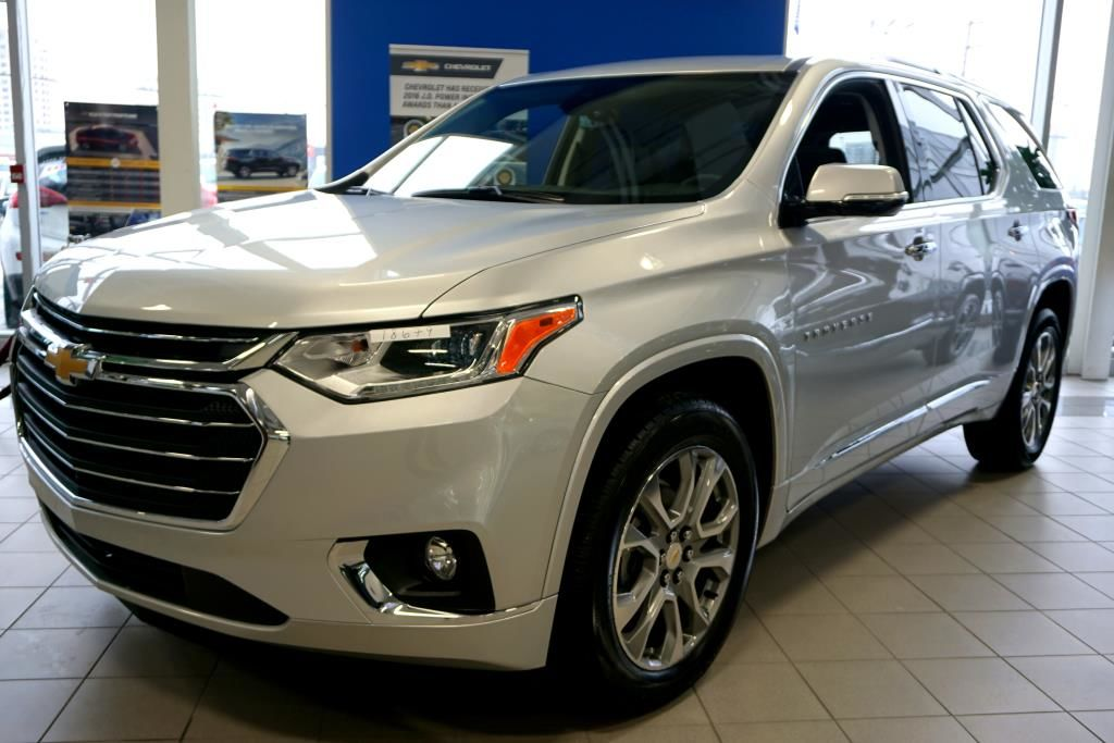 Used Chevy Traverse >> New 2018 Chevrolet Traverse Premier, AWD GAN - Silver Ice ...