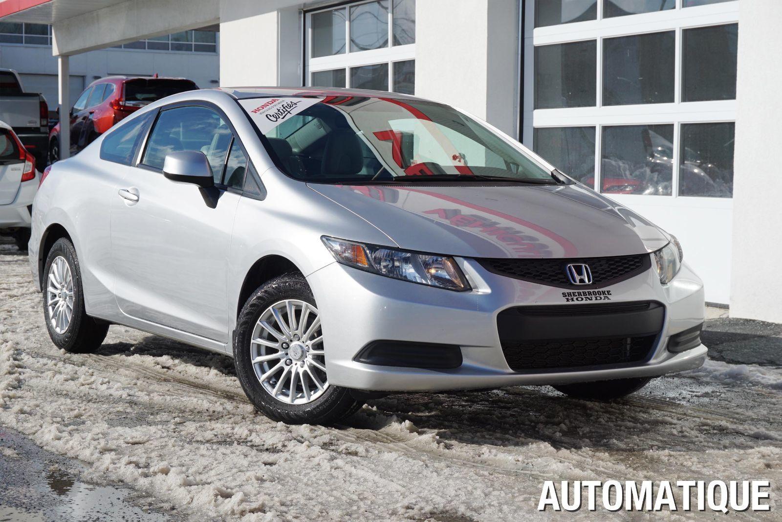 Pre owned 2013 honda civic lx in sherbrooke pre owned for Honda civic certified pre owned