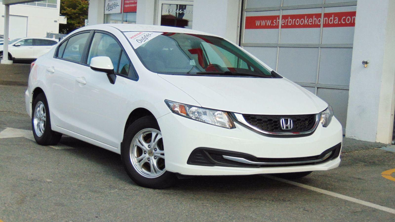 Pre owned 2013 honda civic lx in sherbrooke pre owned for Honda used inventory