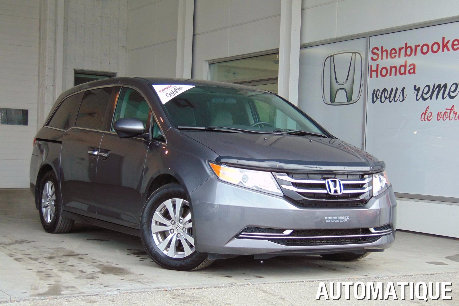 Pre owned 2014 honda odyssey ex in sherbrooke pre owned for Honda used inventory