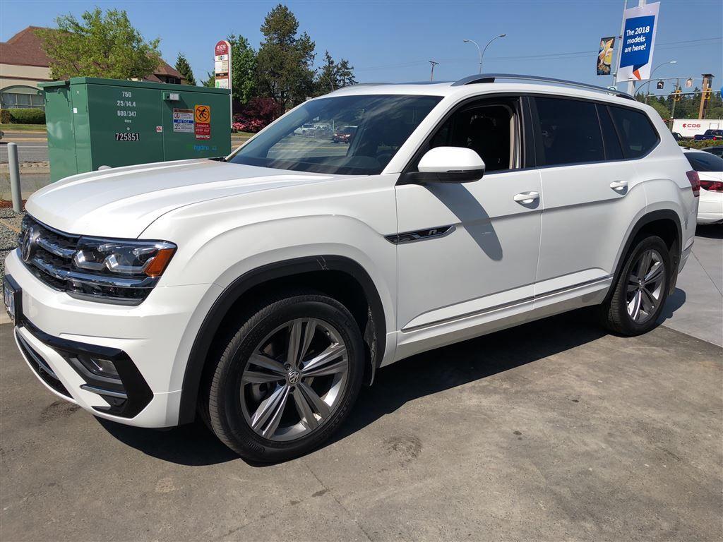 New 2018 Volkswagen Atlas Highline 4Motion w/ Captain Chairs & R-Line Pkg. for Sale - $54415 ...