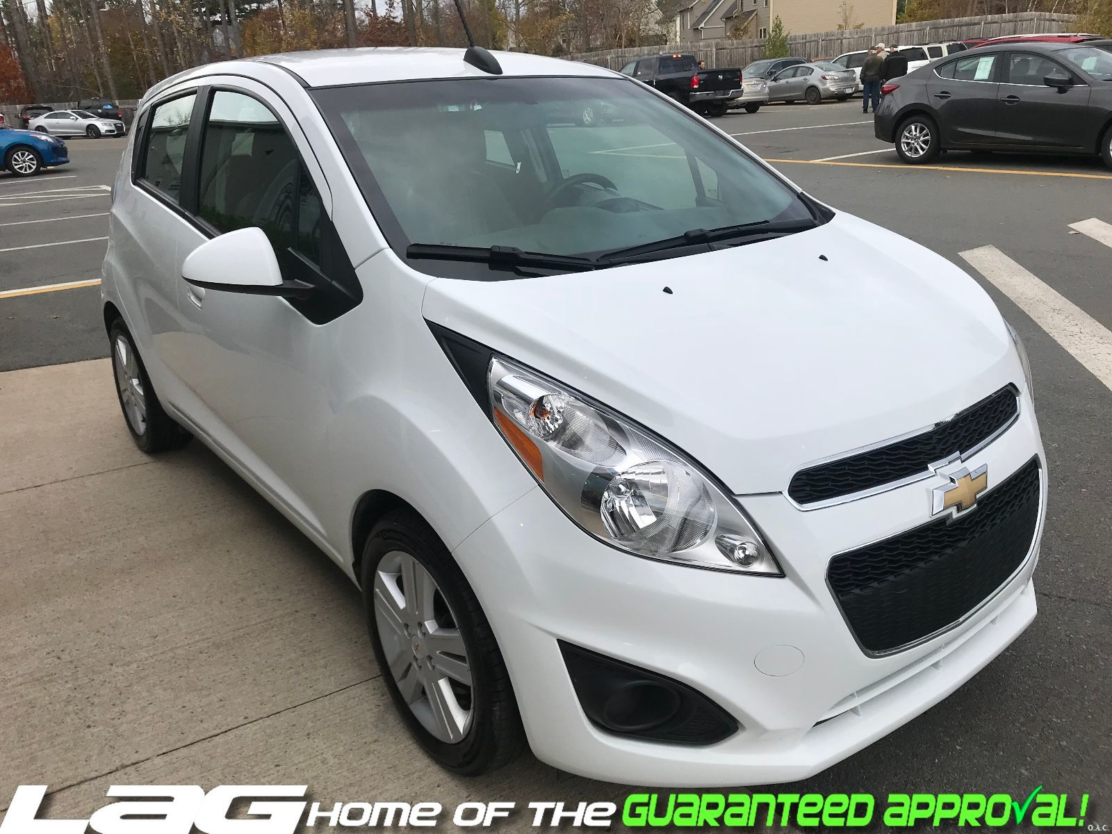 902 Auto Sales Used 2015 Chevrolet Spark For Sale In Dartmouth Exterior Lt Img 7