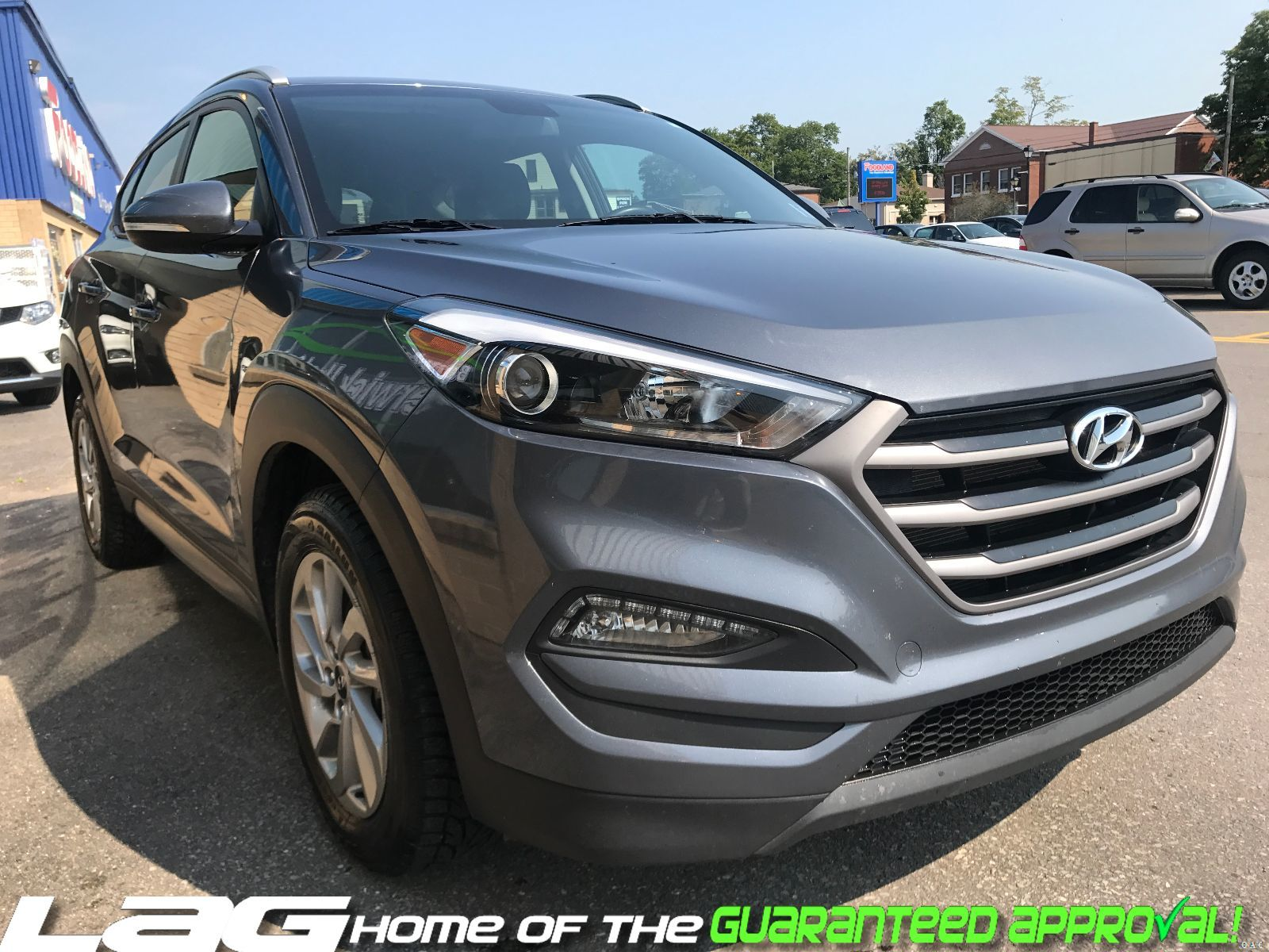 awd navigation camera used hyundai utility rearview seats edmonton wheel heated new ultimate tucson turbo steering sport river in inventory