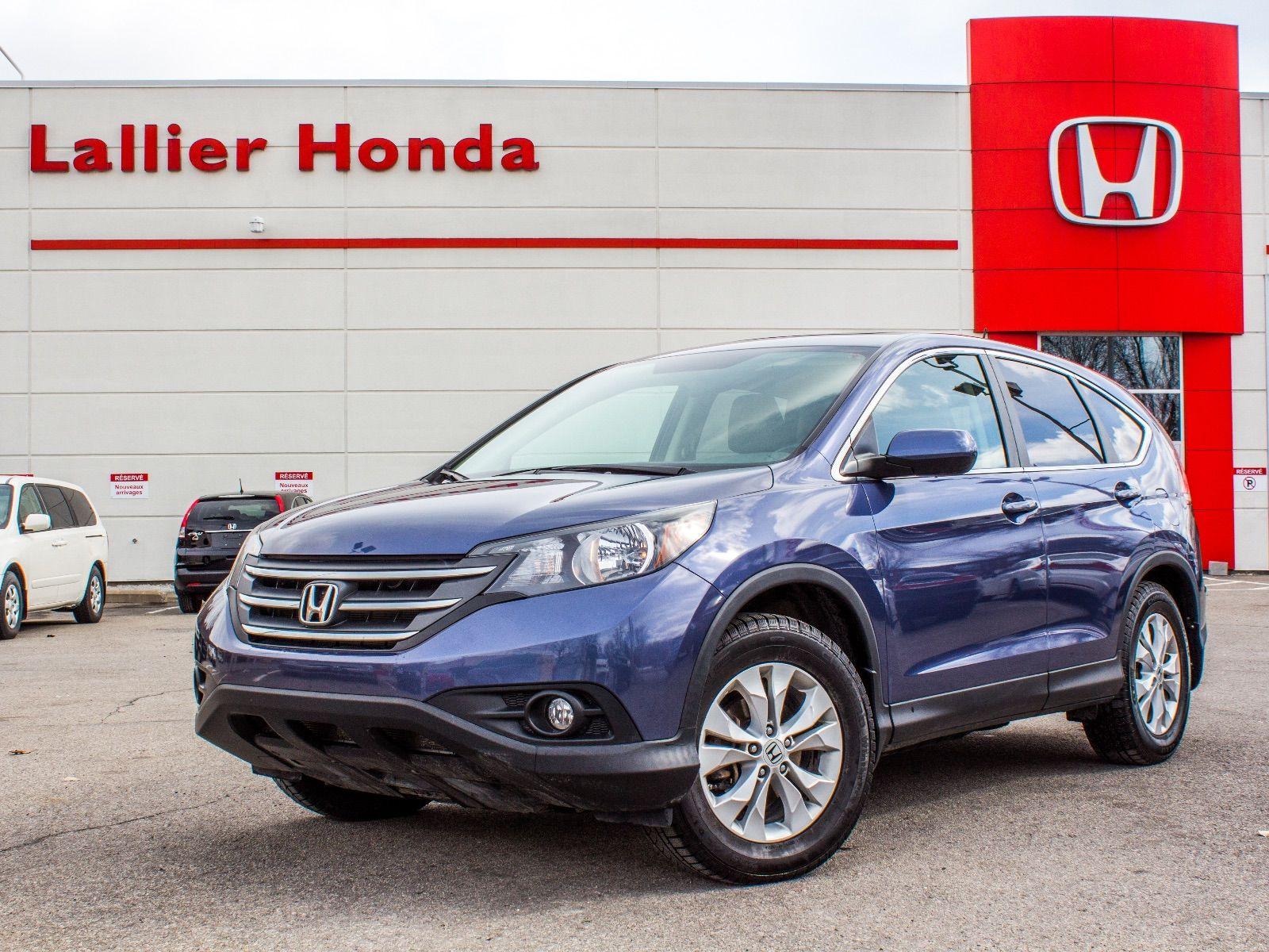 Pre owned 2012 honda cr v ex l lallier honda montreal in for Honda used inventory
