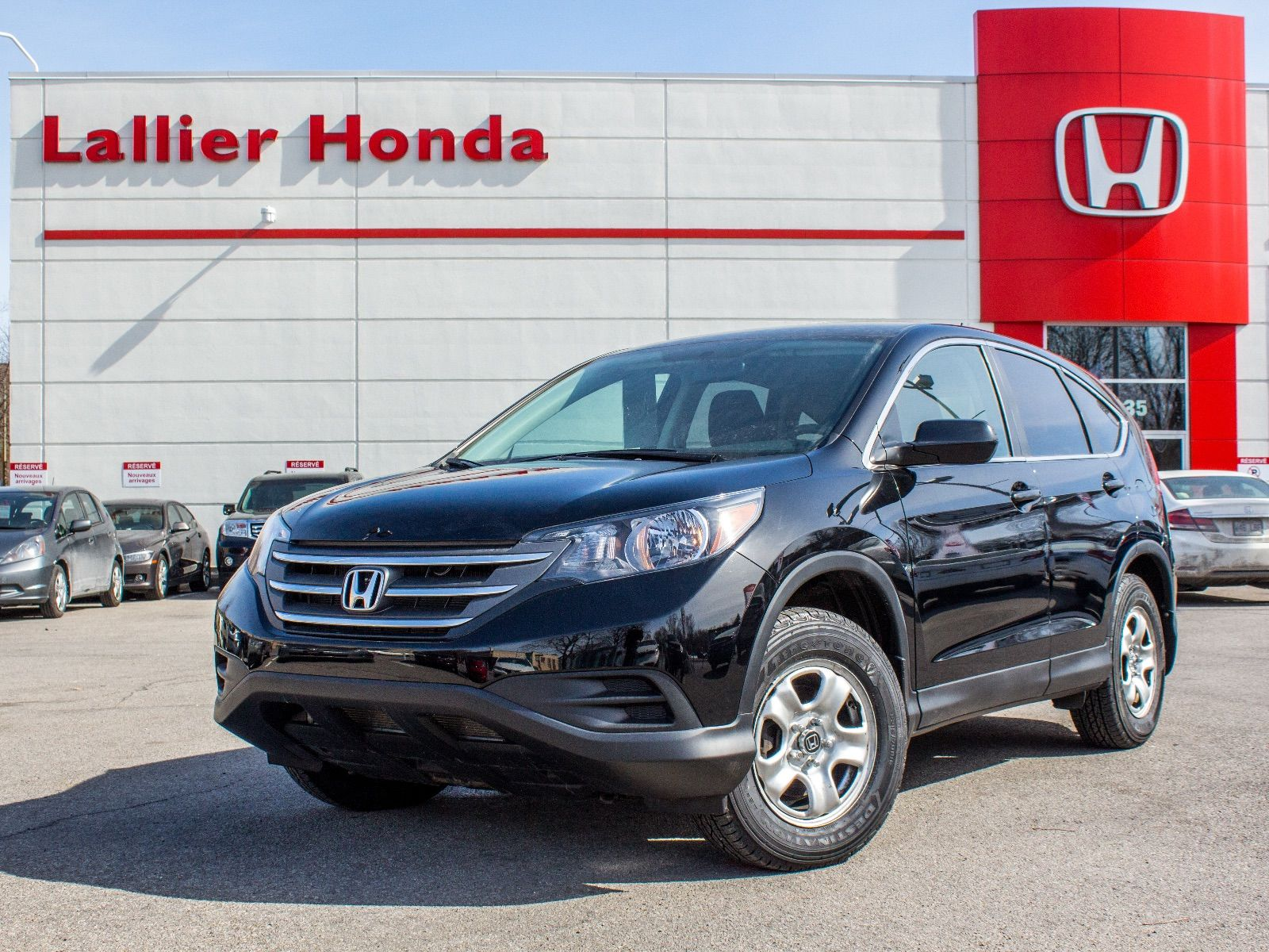 Pre owned 2013 honda cr v lx awd lallier honda montreal in for Honda financial services payment login