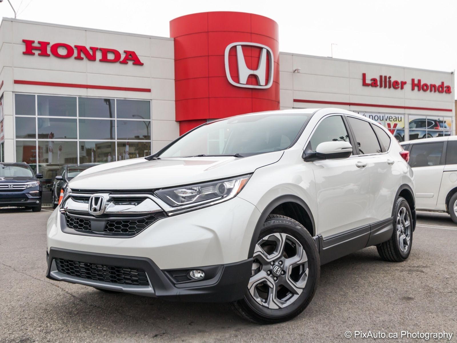 Pre owned 2017 honda cr v ex l lallier honda montreal in for Honda financial services mailing address