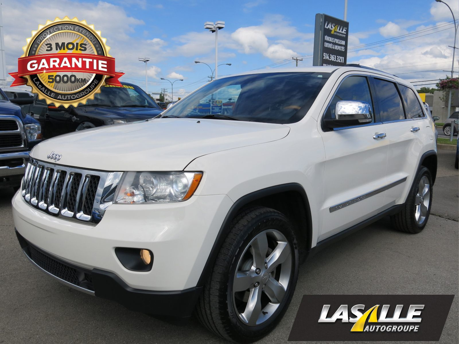 Used 2011 Jeep Grand Cherokee Overland 4x4 for sale in